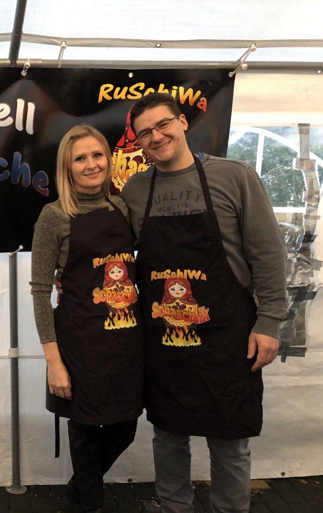 Das Ru der Crew steht für Familie Ruppel mit Erika und Jürgen